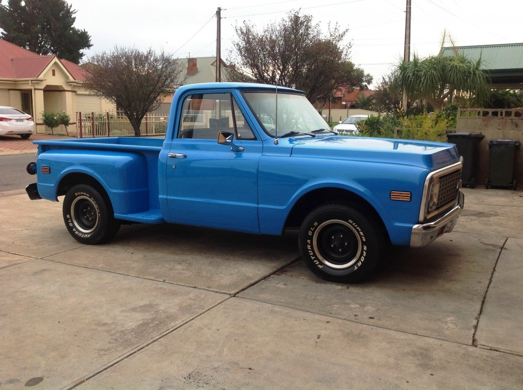 1971 Chevrolet C10 Stepside 350/300hp Automatic SOLD