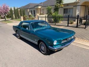 66 Mustang blue (6)