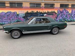 1968 Mustang Dark Green (42)